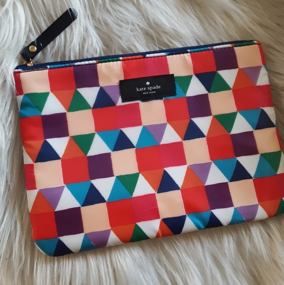 detailing dcac4 fb0d3 Sale! New♠️kate spade Geometric Cosmetic Bag! NWT